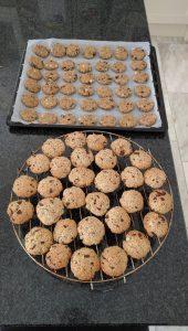 Chocolade-peer koekjes